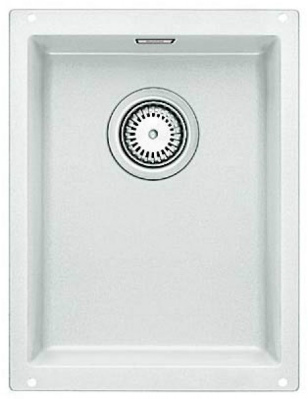 Мойка для кухни Blanco SUBLINE 320-U Silgranit  БЕЛЫЙ  Артикул 513401 купить