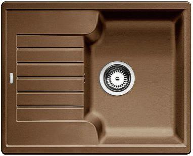 Мойка с крылом для кухни Blanco ZIA 40 S Silgranit  МУСКАТ  Артикул 521957 купить