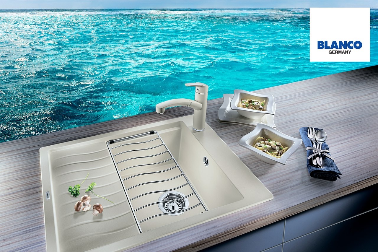 Мойка для кухни Blanco ELON 45 S Silgranit купить