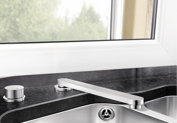 Выдвижной смеситель для кухни Blanco ELOSCOPE-F II