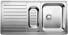 Мойка для кухни Blanco CLASSIC Pro 6 S-IF Нержавеющая сталь с зеркальной полировкой Артикул 516852