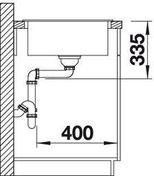 Мойка для кухни Blanco ZIA XL 6 S Silgranit купить (вид сбоку)