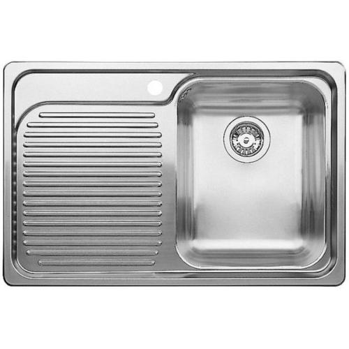 Мойка для кухни Blanco CLASSIC 4 S  НЕРЖАВЕЮЩАЯ СТАЛЬ С ЗЕРКАЛЬНОЙ ПОЛИРОВКОЙ  Артикул 507701 Чаша справа купить