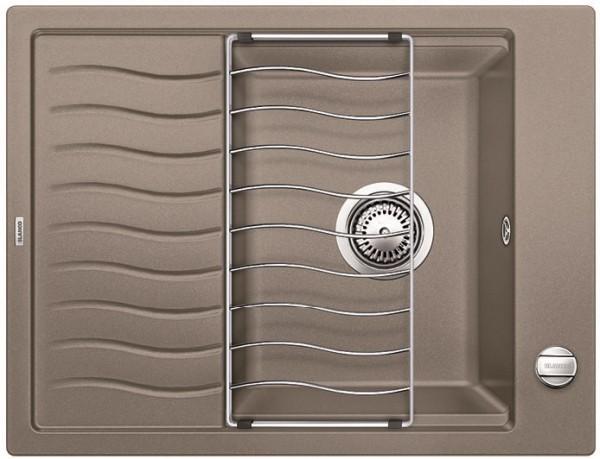 Мойка для кухни Blanco ELON 45 S Silgranit  СЕРЫЙ БЕЖ  Артикул 520996 купить