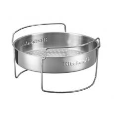 корзинка для готовки на пару и решетка для запекания