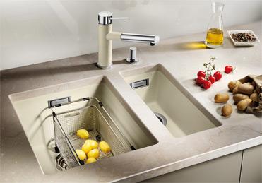 Мойка для кухни Blanco SUBLINE 320-U Silgranit купить
