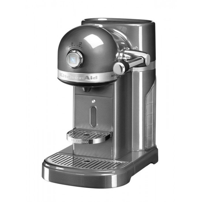 Капсульная кофемашина KitchenAid Nespresso 5KES0503MS (серебряный медальон)