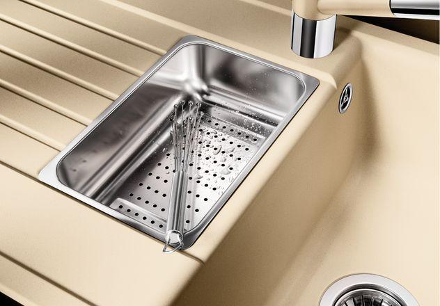 Мойка для кухни Blanco ZIA 6 S Silgranit с дополнительной чашей