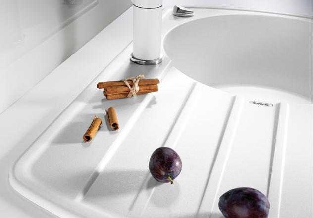 Мойка для кухни Blanco RONDOVAL 45 S Silgranit с рельефным крылом купить