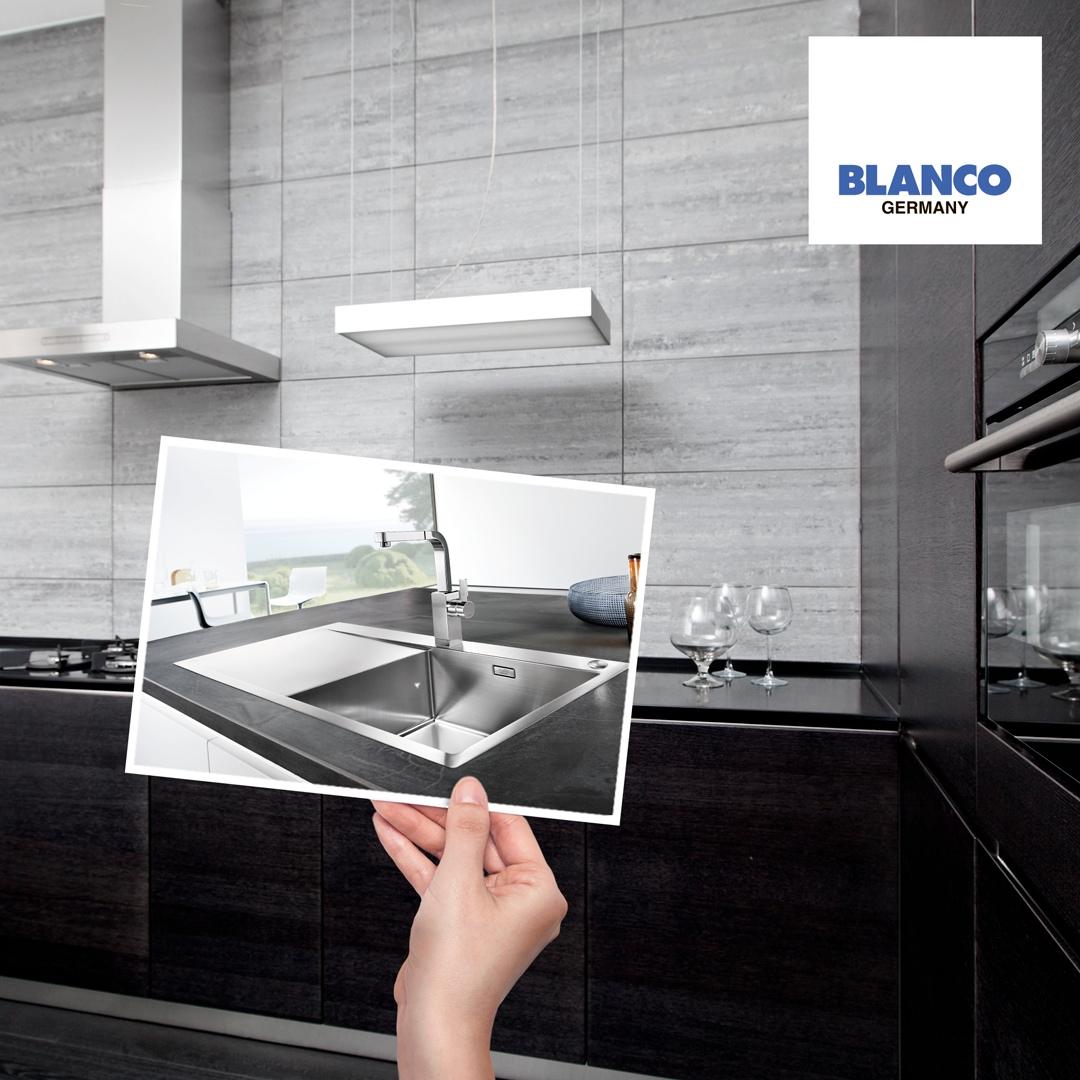 Смеситель для кухни Blanco LEVOS-S купить   blancohouse.ru