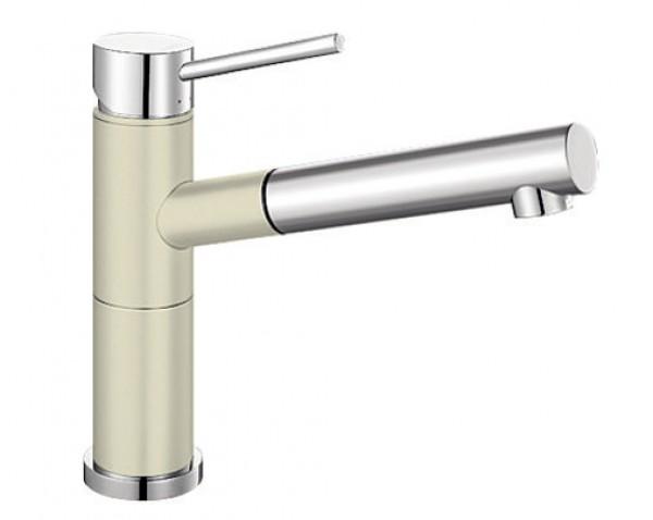 Смеситель для кухни Blanco ALTA-S Compact Silgranit ХРОМ / ЖАСМИН Артикул 515328 купить