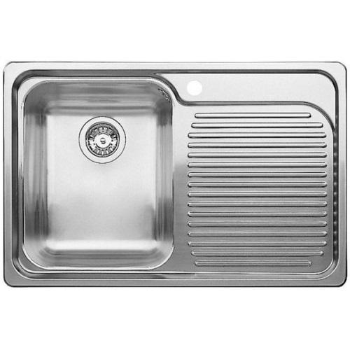 Мойка для кухни Blanco CLASSIC 4 S  НЕРЖАВЕЮЩАЯ СТАЛЬ С ЗЕРКАЛЬНОЙ ПОЛИРОВКОЙ артикул 507702 чаша слева купить