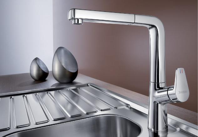 Смеситель для кухни Blanco AVONA-S с хромированной поверхностью купить