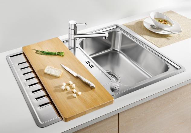 Мойка для кухни Blanco CLASSIC Pro 45 S-IF с разделочной доской