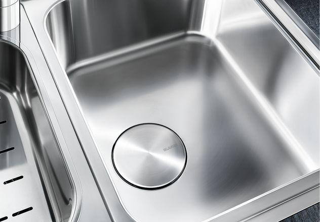Мойка для кухни Blanco CLASSIC Pro 6 S-IF с большой дополнительной чашей