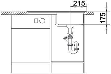 Мойка для кухни Blanco CLASSIC 4 S вид спереди
