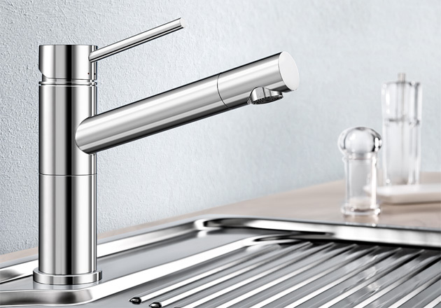 Смеситель для кухни Blanco ALTA Compact в хроме купить