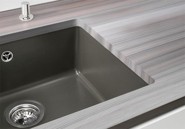 Мойка для кухни Blanco SUBLINE 500-U Ceramic для подстольного монтажа
