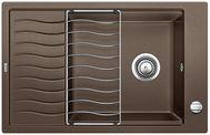 Мойка для кухни Blanco ELON XL 6 S-F Silgranit КОФЕ Артикул 519517 МОЙКА ОБОРАЧИВАЕМАЯ