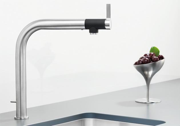Смеситель для кухни Blanco VONDA Control из нержавейки купить