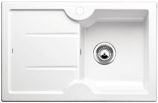 Мойка для кухни из керамики Blanco IDESSA 45 S  ГЛЯНЦЕВЫЙ БЕЛЫЙ купить