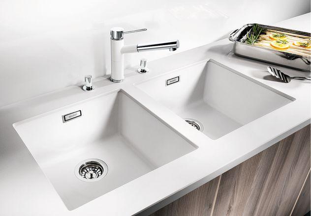 Мойка для кухни Blanco SUBLINE 400-U Silgranit купить