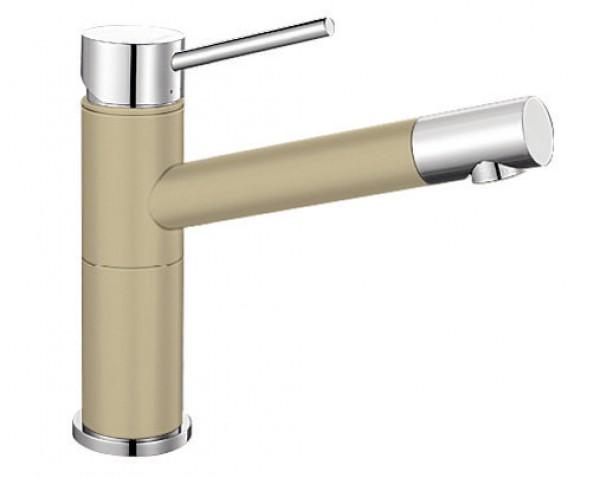 Смеситель для кухни Blanco ALTA Compact Silgranit  ХРОМ / ШАМПАНЬ  Артикул 515319 купить