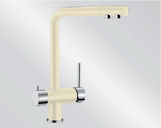 смеситель с питьевой водой Blanco FONTAS Silgranit  ХРОМ / ЖАСМИН  Артикул 518507 купить