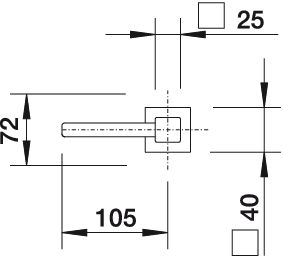 Дозатор жидкого моющего средства Blanco LEVOS купить (угол поворота)