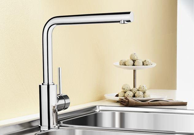 Смеситель для кухни Blanco MILA с хромированной поверхностью купить