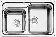 Мойка для кухни Blanco CLASSIC 8 НЕРЖАВЕЮЩАЯ СТАЛЬ С ЗЕРКАЛЬНОЙ ПОЛИРОВКОЙ Артикул 507543 ЧАША СПРАВА