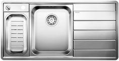 Мойка для кухни Blanco AXIS II 6 S-IF Нержавеющая сталь с зеркальной полировкой Артикул 516530 чаша слева