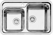 Мойка для кухни Blanco CLASSIC 8-IF НЕРЖАВЕЮЩАЯ СТАЛЬ С ЗЕРКАЛЬНОЙ ПОЛИРОВКОЙ Артикул 514641 ЧАША СПРАВА