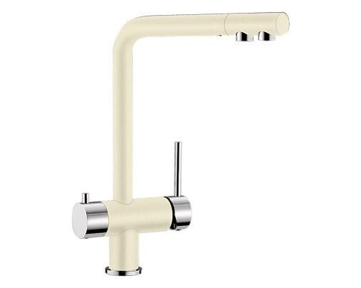 Купить смеситель с питьевой водой Blanco FONTAS Silgranit  ХРОМ / ЖАСМИН  Артикул 518507