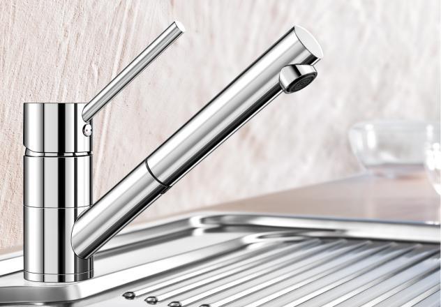 Смеситель для кухни Blanco ANTAS-S с хромированной поверхностью купить