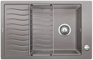 Мойка для кухни Blanco ELON XL 6 S-F Silgranit АЛЮМЕТАЛЛИК Артикул 519512 МОЙКА ОБОРАЧИВАЕМАЯ
