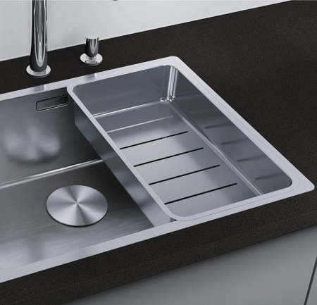 Мойка для кухни Blanco ANDANO 400/400-IF с коландером