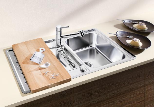 Мойка для кухни Blanco CLASSIC Pro 5 S-IF с разделочной доской