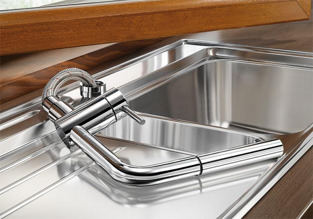 Выдвижной смеситель для кухни Blanco LINUS-S-F