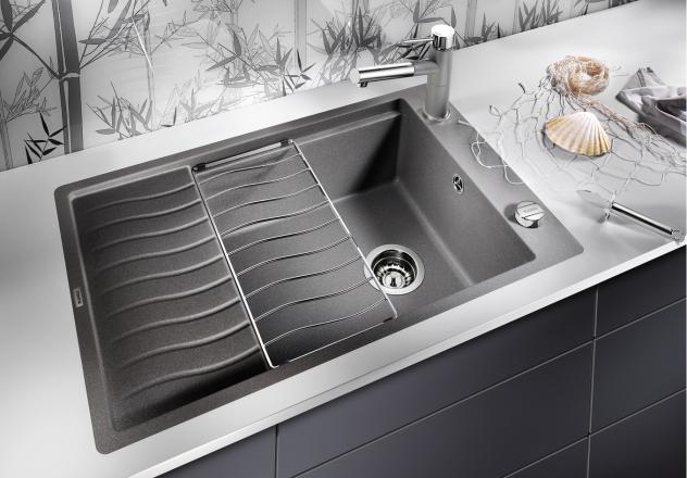 Мойка для кухни Blanco ELON XL 6 S-F Silgranit